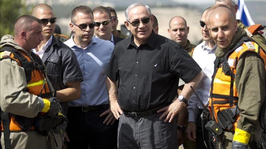 """Netanyahu afirma que la población israelí es la """"más amenazada"""" del mundo"""