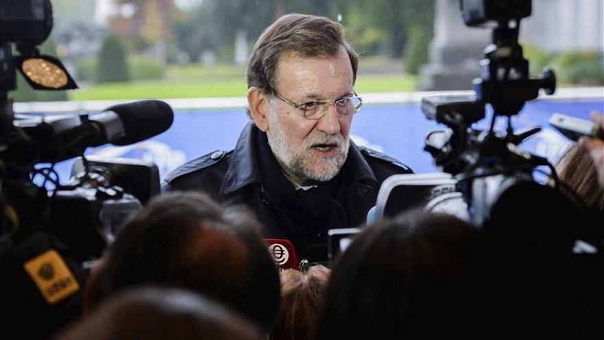 Rajoy rechaza tajante que el PP esté en crisis y lo ve como ganador el 20D