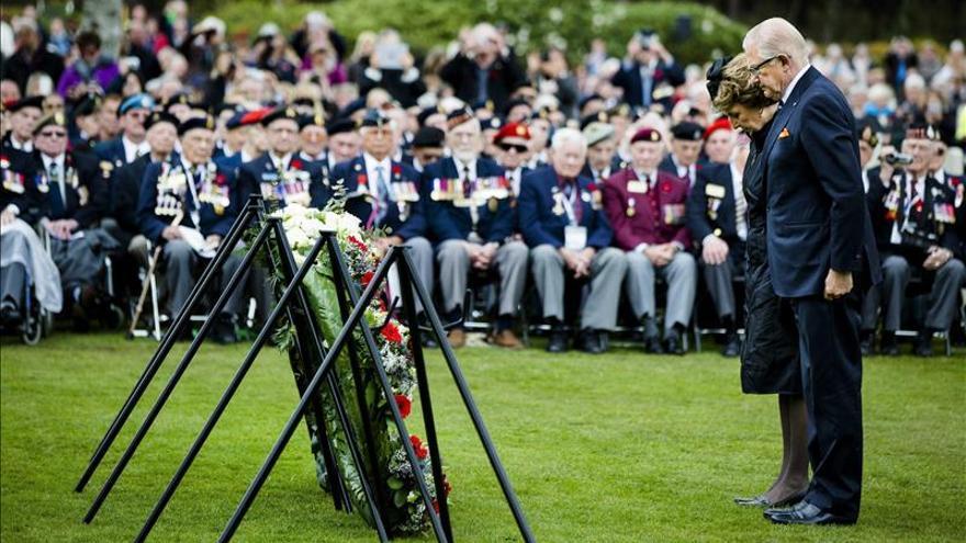 Holanda recuerda a los caídos en la II Guerra Mundial, que vivió el 12 por ciento de la población