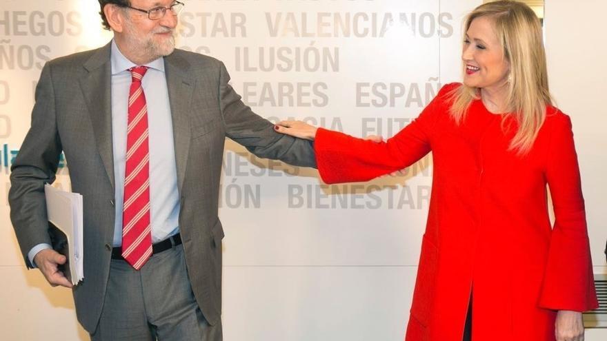 Rajoy y Cifuentes acudirán este miércoles en Las Rozas a la tradicional cena de Navidad del PP de Madrid