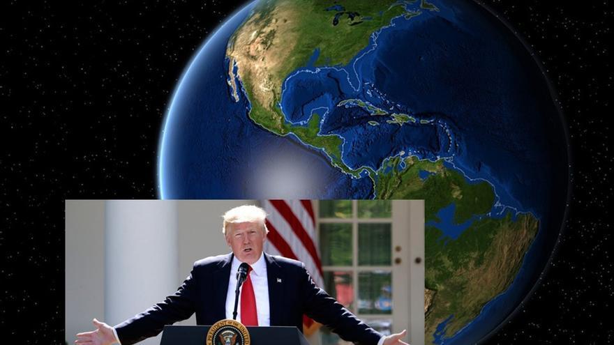 Trump saca a EE.UU. del acuerdo de Paris