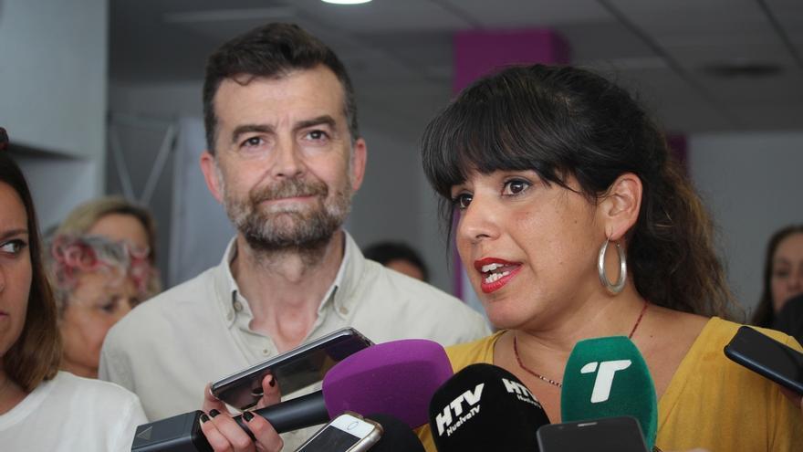 Teresa Rodríguez, cabeza de lista de 'Adelante Andalucía' por Málaga y Maíllo, número uno por Sevilla
