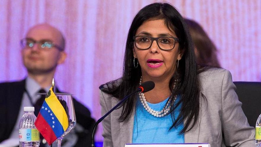La canciller venezolana demandará a Capriles por vincularle al caso de los sobrinos de Maduro