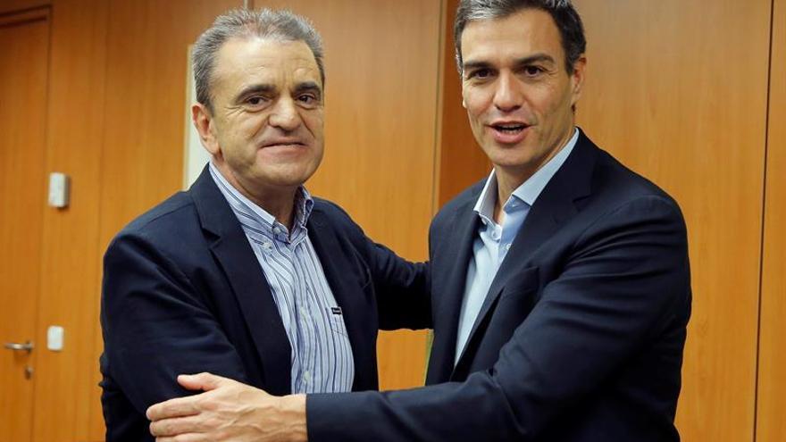 Sánchez y Franco coinciden hoy en un acto tras el desencuentro por las listas