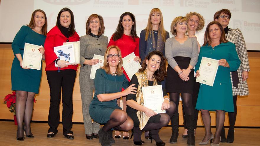 Mujeres empresarias galardonadas en la anterior edición
