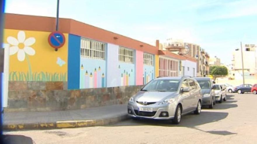 Escuela infantil de Arguineguín. (Fotograma de RTVC)