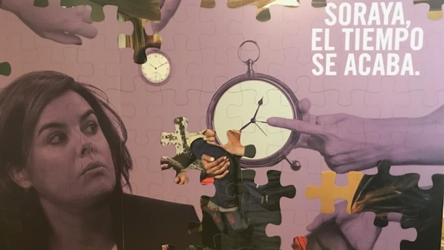 El #PuzzleDeSoraya en la sede de Amnistía Internacional