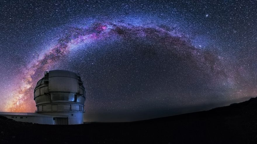 Resultado de imagen de gRAN tELESCOPIO DE cANARIAS