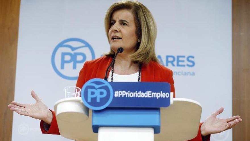 Báñez defiende pacto PP-PSOE-Ciudadanos para alcanzar 20 millones de empleos