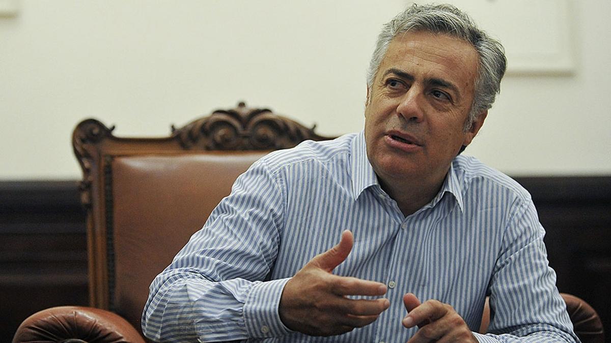 El presidente de la UCR, el diputado nacional por Mendoza Alfredo Cornejo