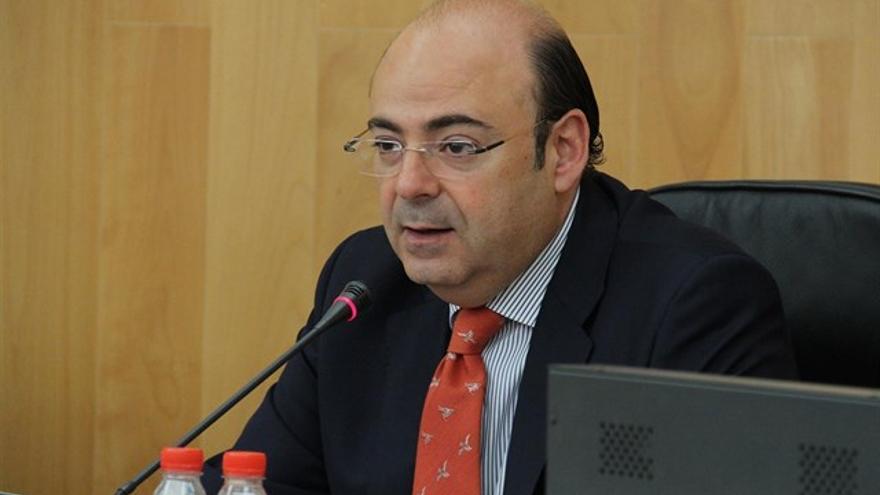 Sebastián Pérez, presidente del PP de Granada | EP
