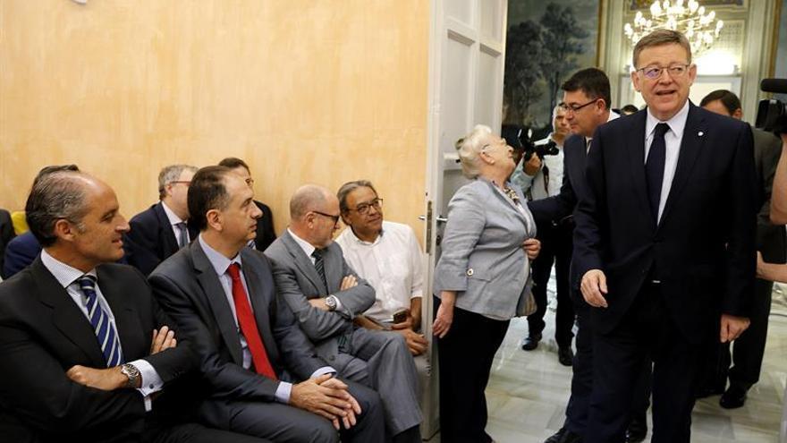 Puig replica a Camps que los ciudadanos han decidido que haya pluralidad