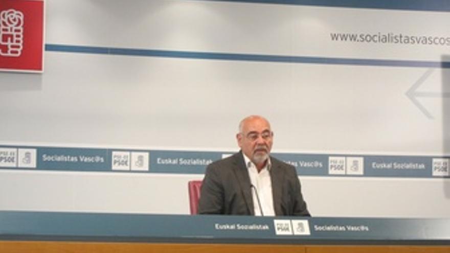 El portavoz del PSE, José Antonio Pastor