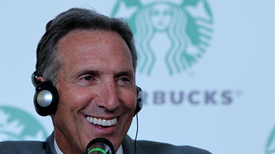 El consejero delegado de Starbucks, Howard Schultz