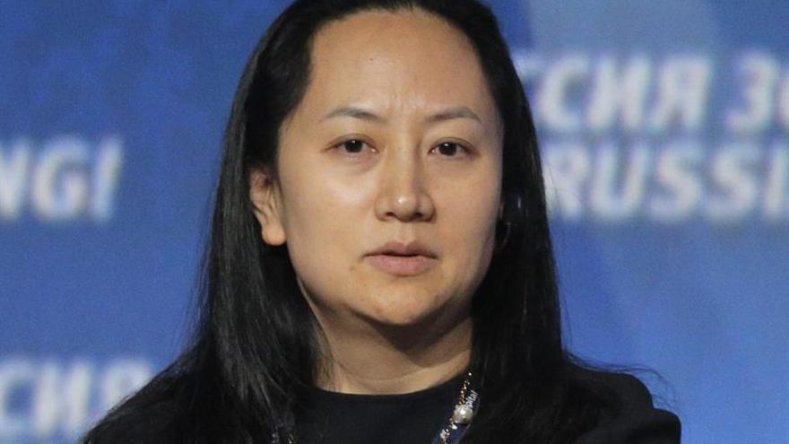 La ejecutiva de Huawei se dirigía a México cuando fue detenida en Vancouver