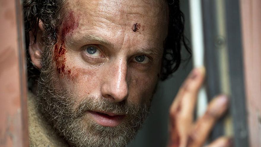 Andrew Lincoln, en la quinta temporada de The Walking Dead