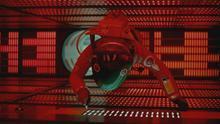 El color rojo de HAL 9000 contribuye a crear una atmósfera de tensión en '2001: una odisea del espacio'