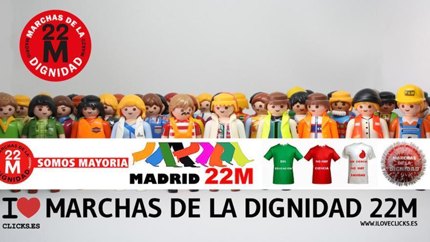 I love Marchas de la Dignidad 22M