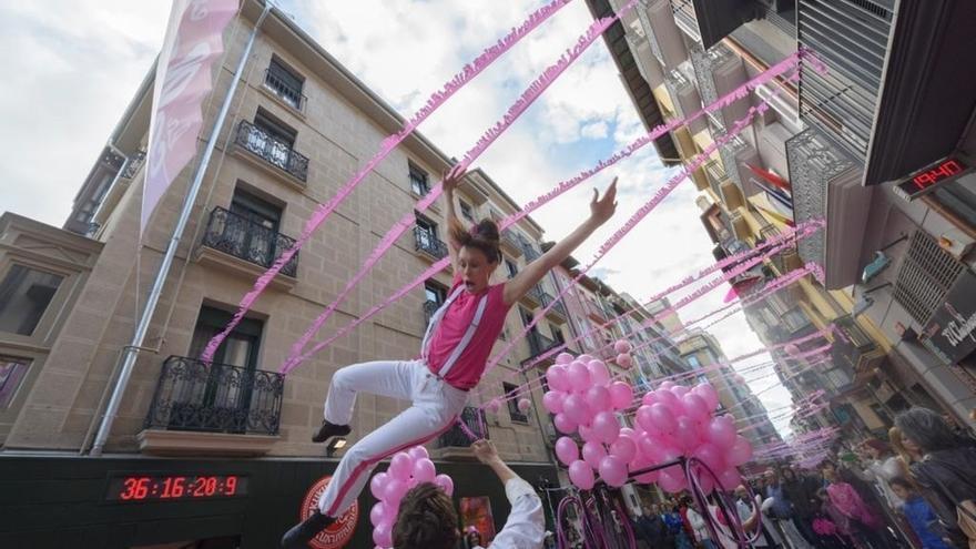 'La Calle en Rosa' volverá a Pamplona para promocionar los vinos rosados de la Denominación de Origen Navarra