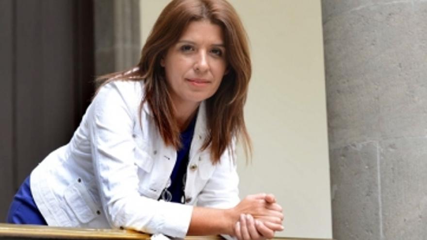 Carmen Hernández, alcaldesa de Telde.