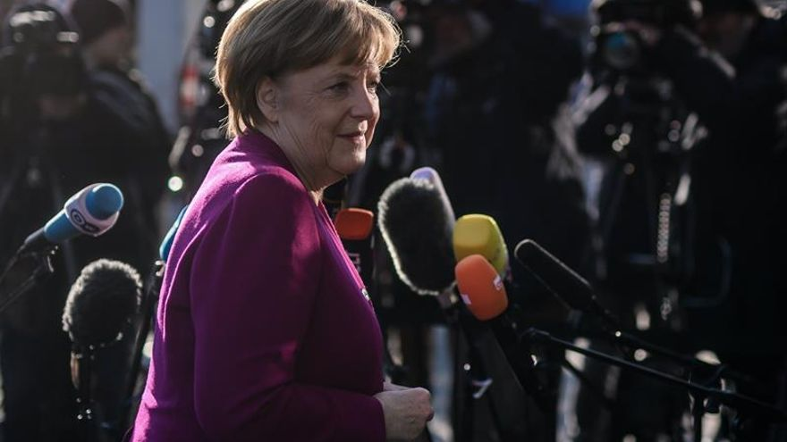 Merkel y Schulz alcanzan un acuerdo de gobierno en Alemania, según medios