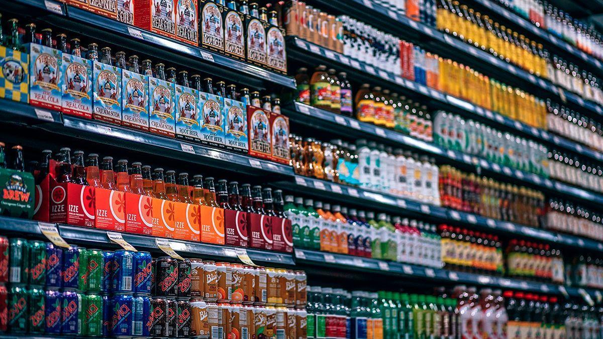 Bebidas en un supermercado | PIXABAY