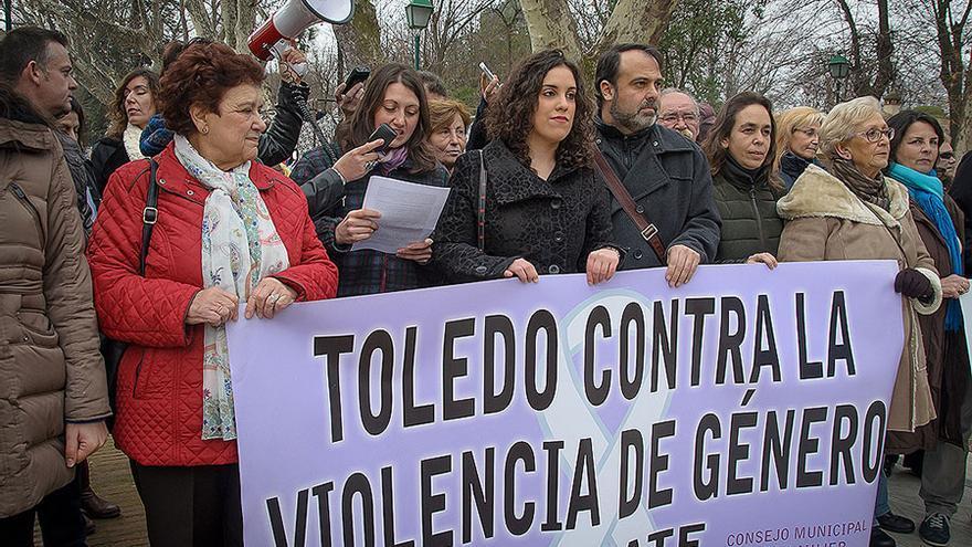 Consejo de la mujer de Toledo, concentración de febrero