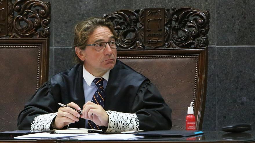 El juez Salvador Alba en el juicio del caso Patronato (ALEJANDRO RAMOS)