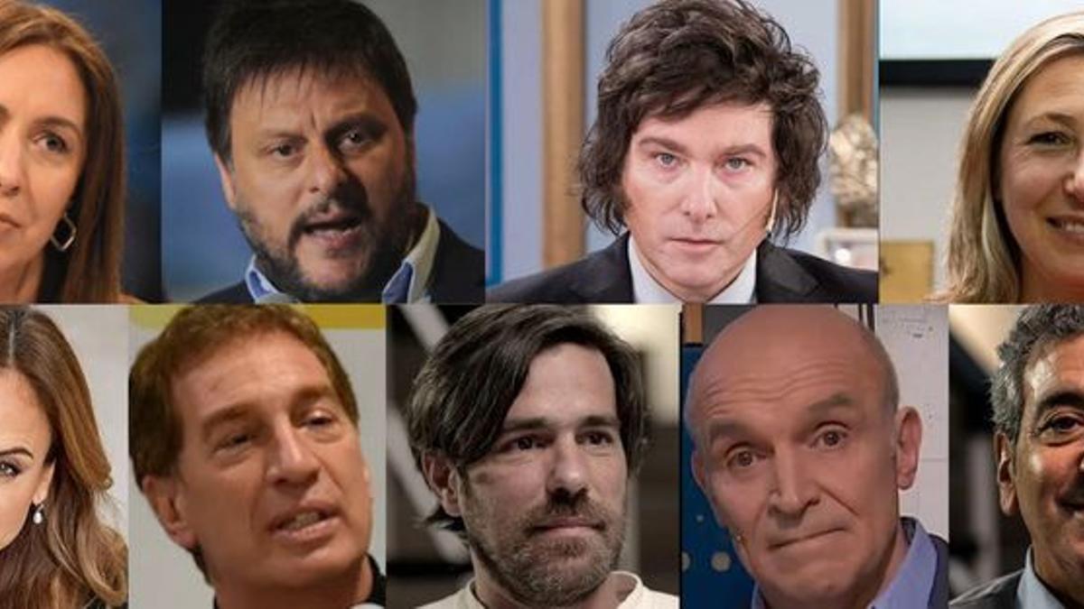Los 9 líderes de las listas más votadas en Ciudad y Provincia