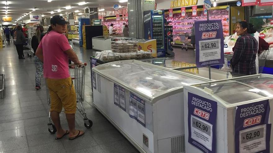 Los consumidores en Argentina hacen un boicot a los supermercados por las alzas de precios