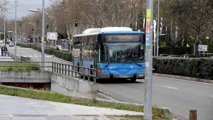 Un autobús de la EMT de Madrid