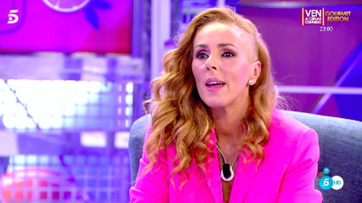 Rocío Carrasco, en su regreso a 'Sálvame'
