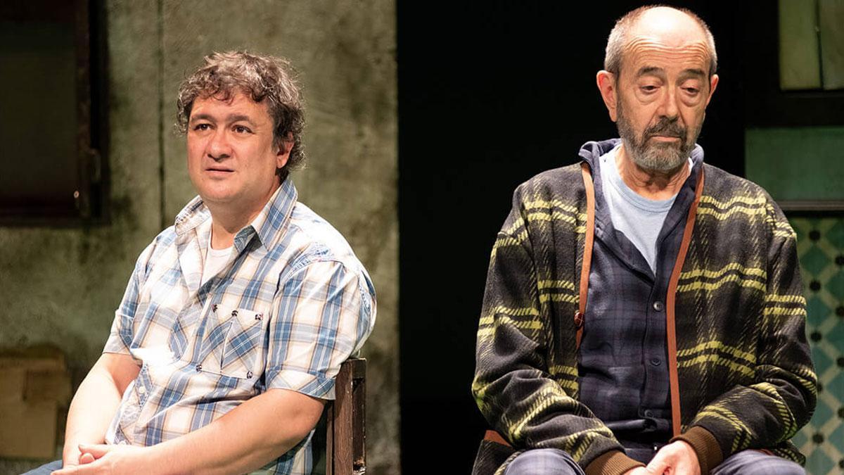 Imagen de la representación de la obra teatral 'Los asquerosos'.
