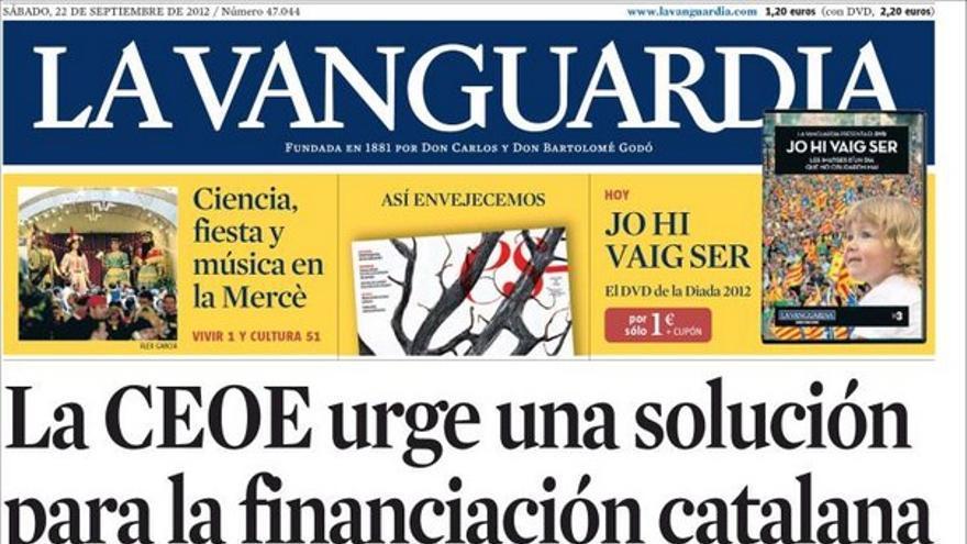 De las portadas del día (22/09/2012) #11