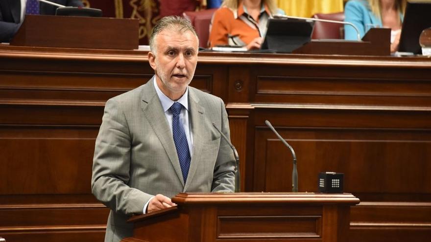 Ángel Víctor Torres, nuevo presidente de Canarias con los votos del PSOE, NC, Sí Podemos y ASG