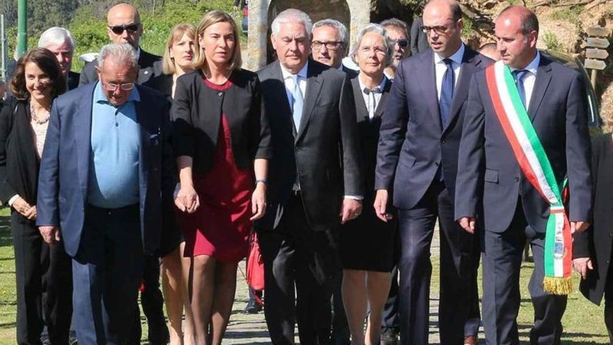 El conflicto en Siria centra la primera sesión del G7 de Exteriores en Italia