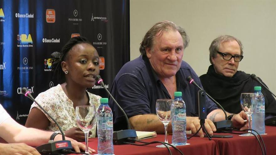 Depardieu lleva sus clásicos como actor a Buenos Aires en gira por América Latina
