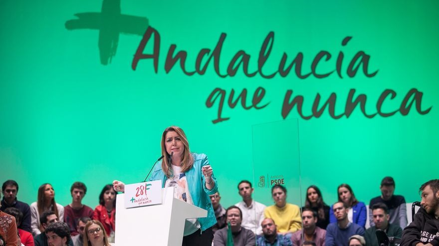 """Susana Díaz no permitirá que nadie """"arrincone"""" a Andalucía: """"nunca más volverá a ser una comunidad de segunda"""""""