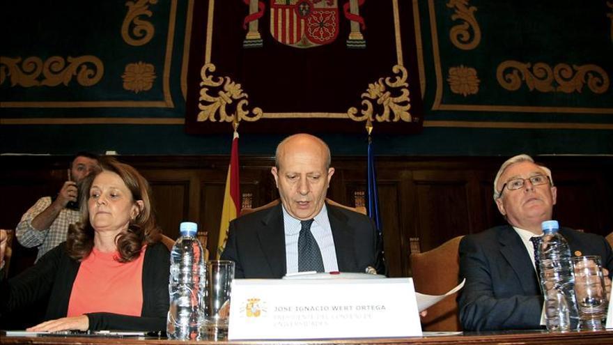 Los rectores piden a Wert que retire el nuevo decreto sobre becas