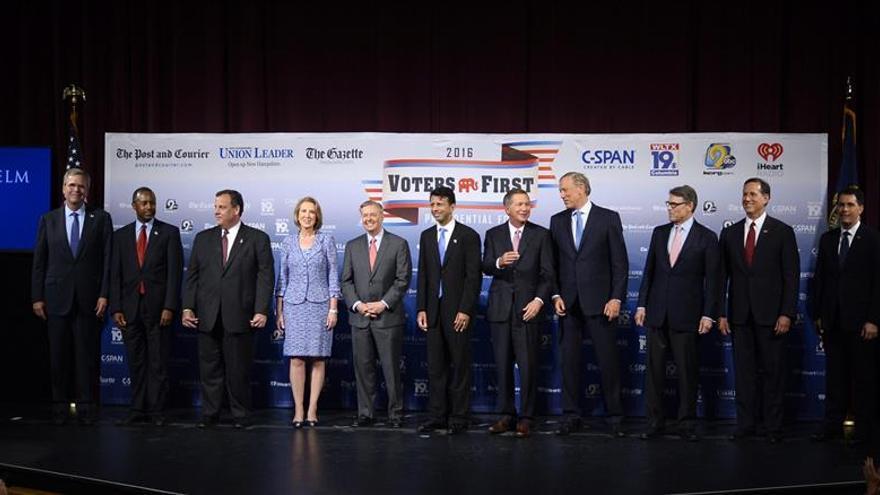 Fox News anuncia los 10 republicanos que participarán en el primer debate