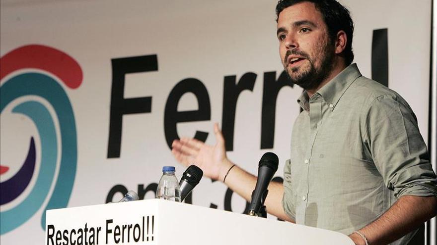 Garzón (IU) dice que si cae el PP de Valencia cae el PP de Rajoy y nos libramos de él