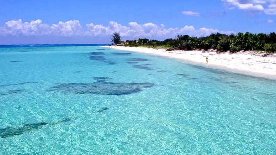Playas de la isla de Cozumel, en el Yucatán mexicano.