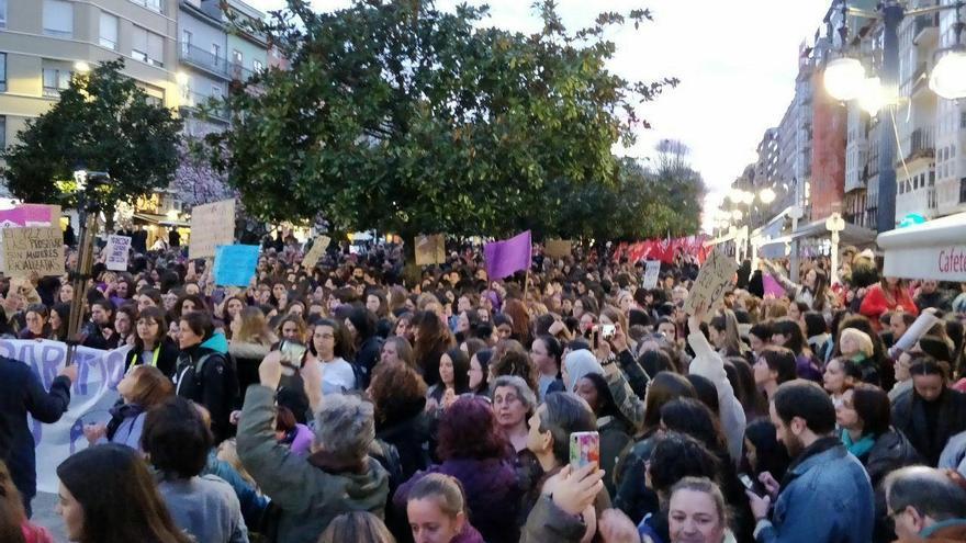 Manifestación del 8M en Santander