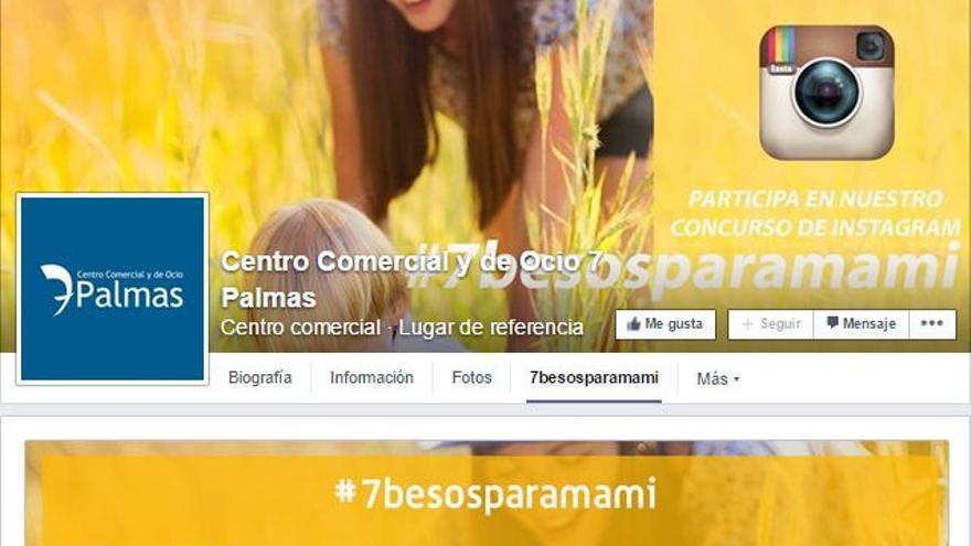 Concurso Instagram en C.C. 7 Palmas