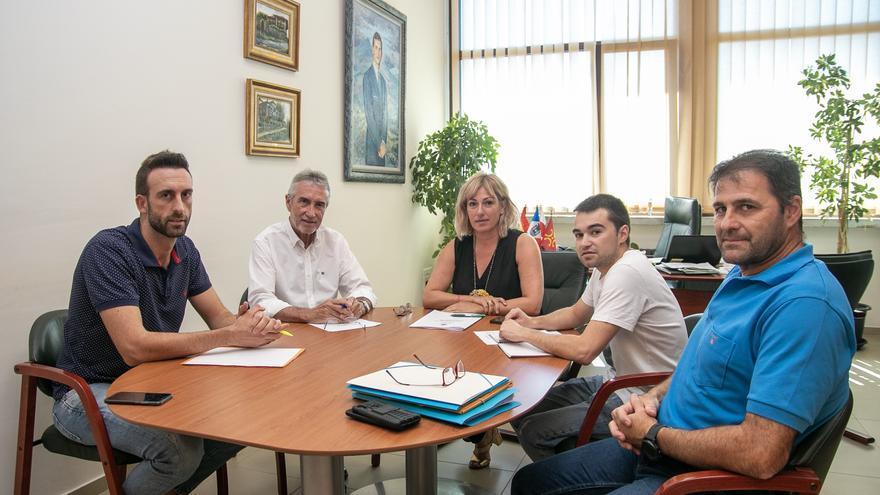 Junta de Portavoces del Ayuntamiento de Polanco con la alcaldesa al frente. | AYUNTAMIENTO DE POLANCO
