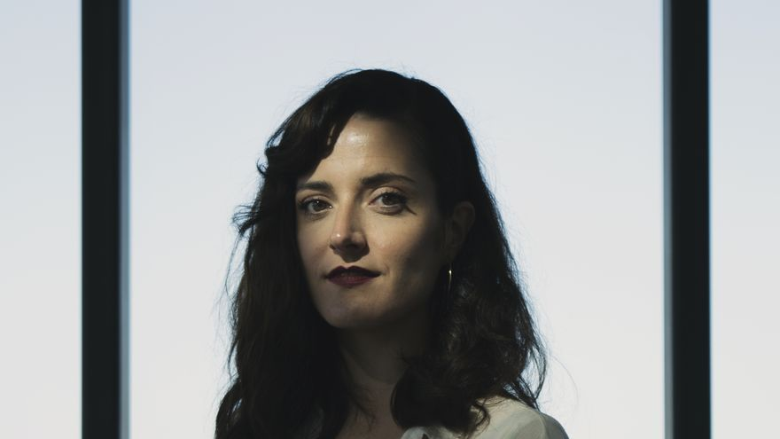 Lucía Baskaran, por Imanol Salaberria