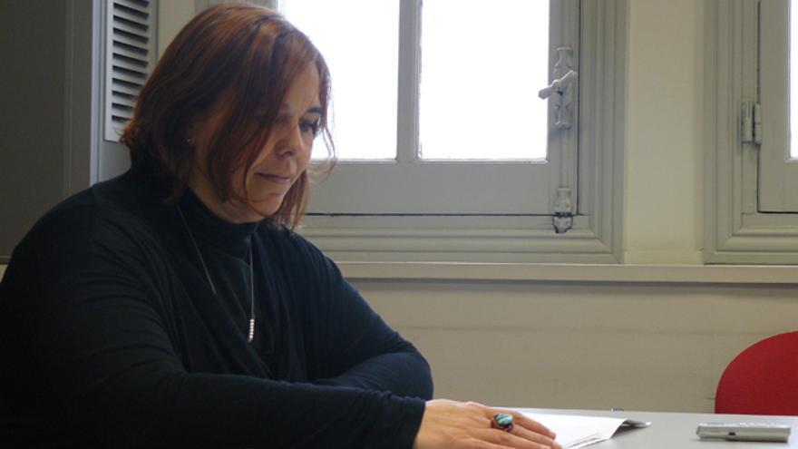 Mila Domínguez, portavoz de la coordinadora de ONGDs de Euskadi