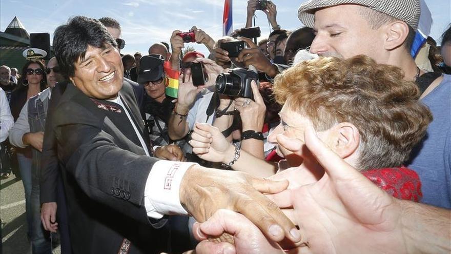 Evo Morales concluye su visita a Irlanda comprometido en reforzar lazos con Europa