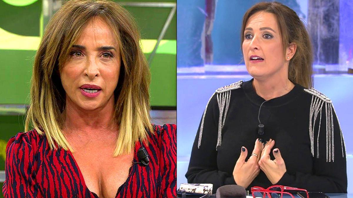 María Patiño y Laura Fa en 'Sálvame'
