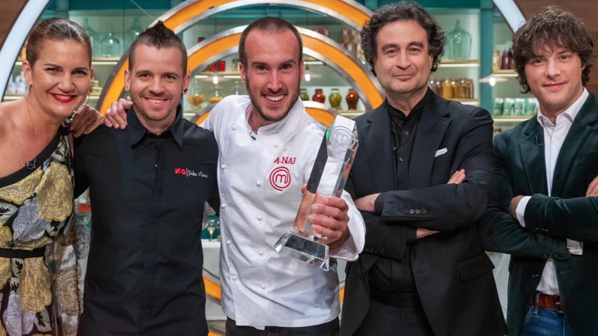 Arnau, nuevo ganador de 'Masterchef España'